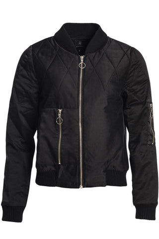 SILK BOMBER JACKET - SOLD OUT