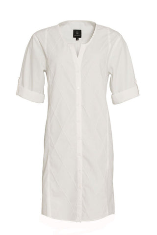 SHIRT DRESS - WHITE - SOLD OUT