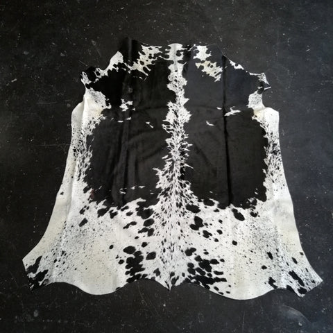 Black & White Cowhide - SC20-CHBLKW-04
