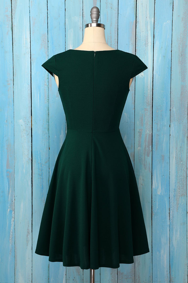 Load image into Gallery viewer, Solid Homecoming Dress