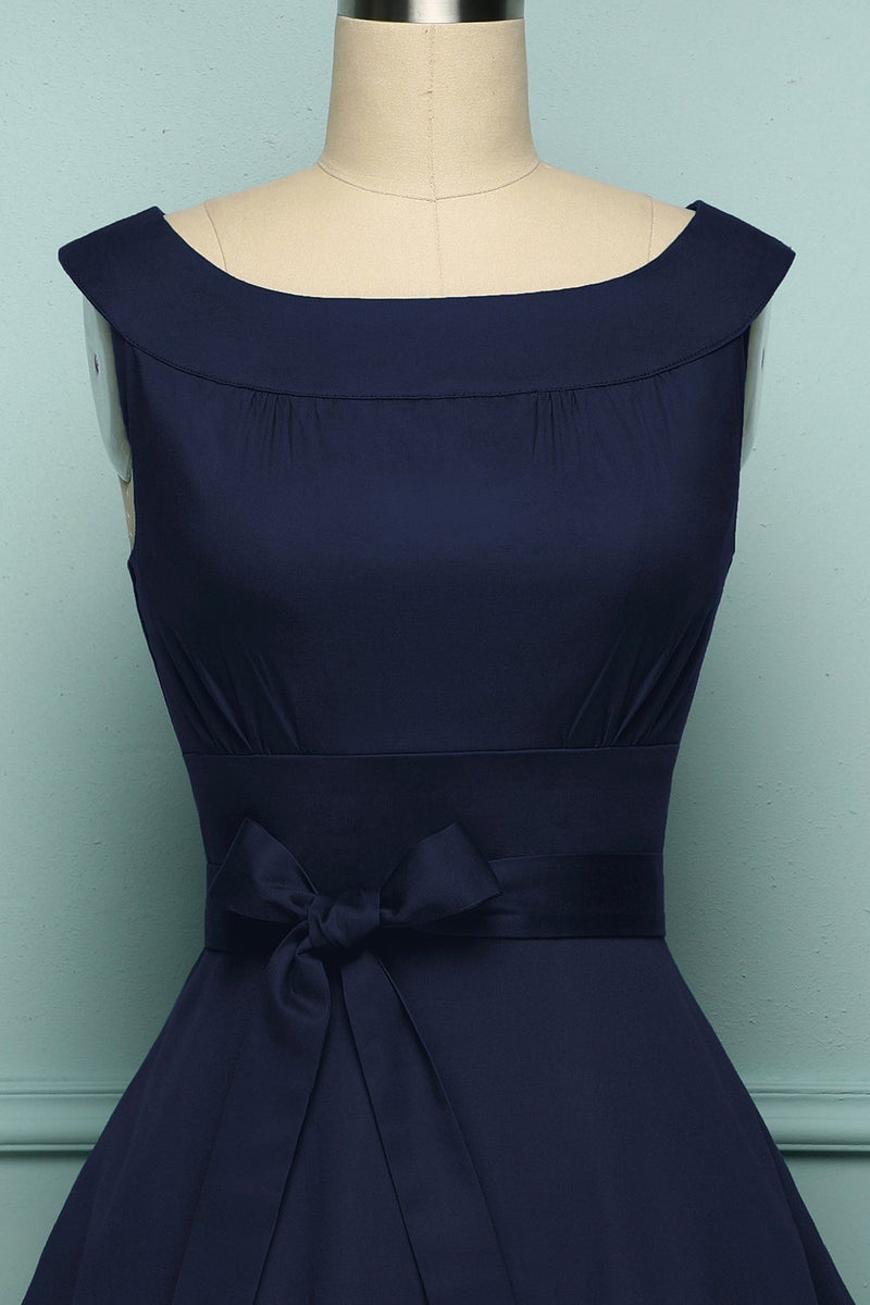 Load image into Gallery viewer, Navy 1950 Swing - ZAPAKA