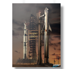 Load image into Gallery viewer, Saturn V & Starship