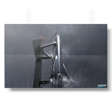 Load image into Gallery viewer, Starship in the rain