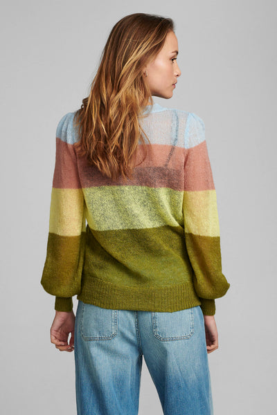 Numph striped knit sweater