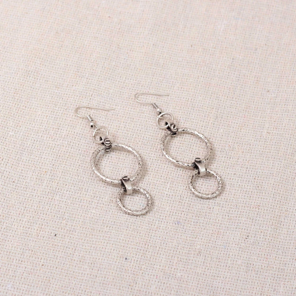 Silver plate earrings Nantwich