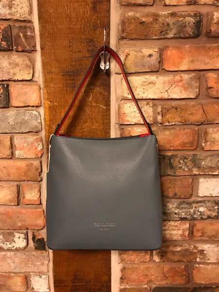 Grey faux leather handbag Nantwich Cheshire