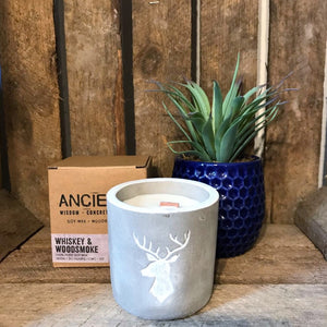 Stag head candle Nantwich