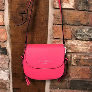 Fuchsia cross body bag