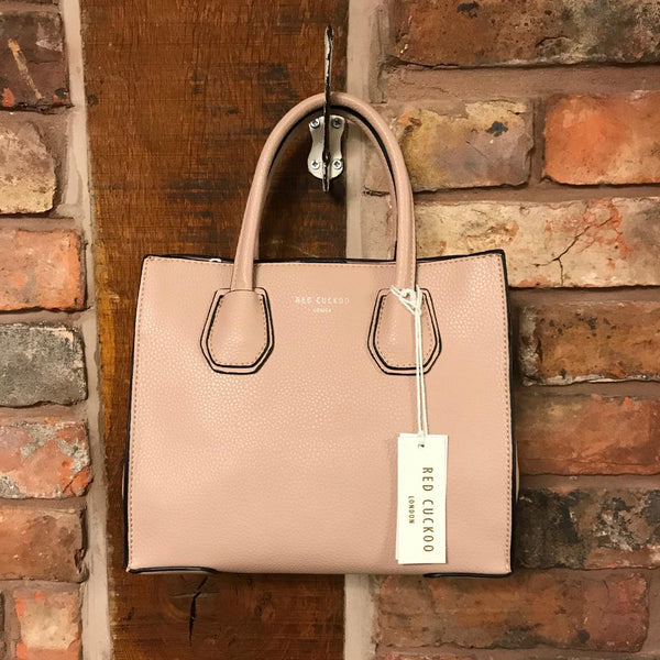 Faux leather pink handbag Nantwich Cheshire