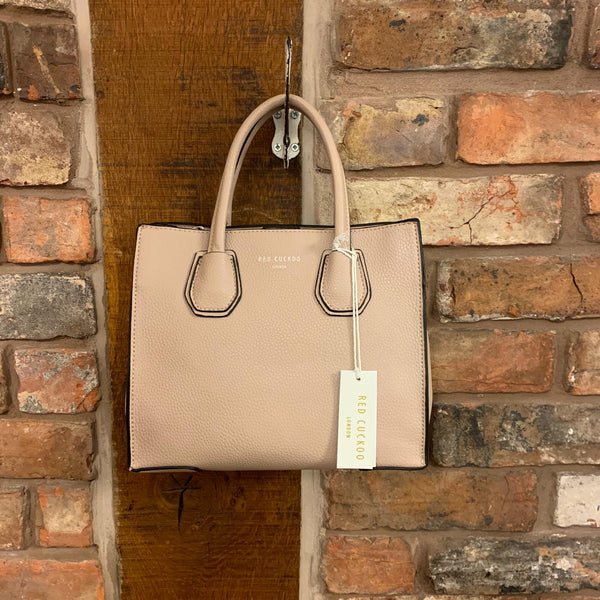 Dusty pink handbag