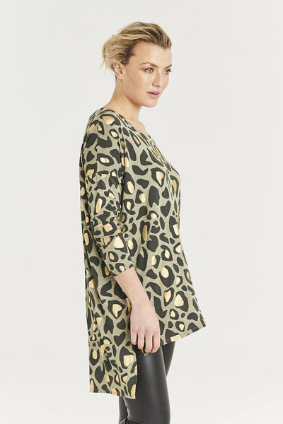 A Postcard from Brighton animal print tunic