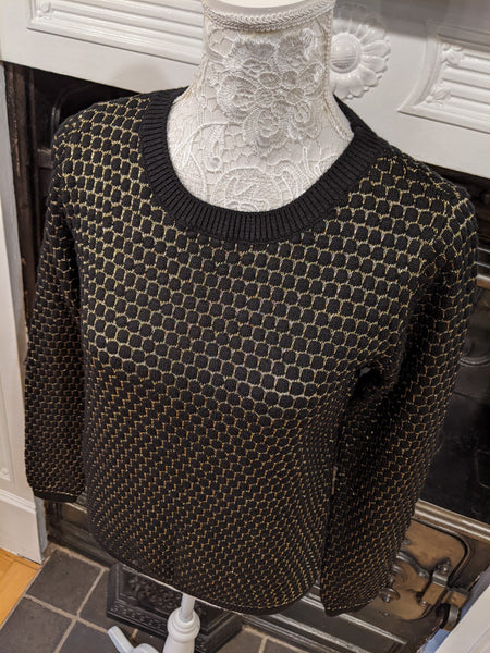 Black & Gold jumper Nantwich Cheshire