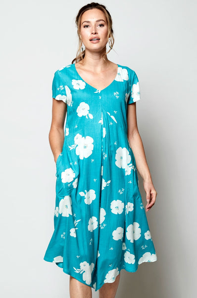 Nomads hibiscus dress