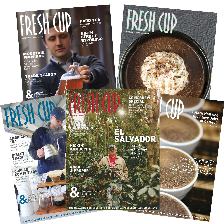 One year subscription to Fresh Cup Magazine