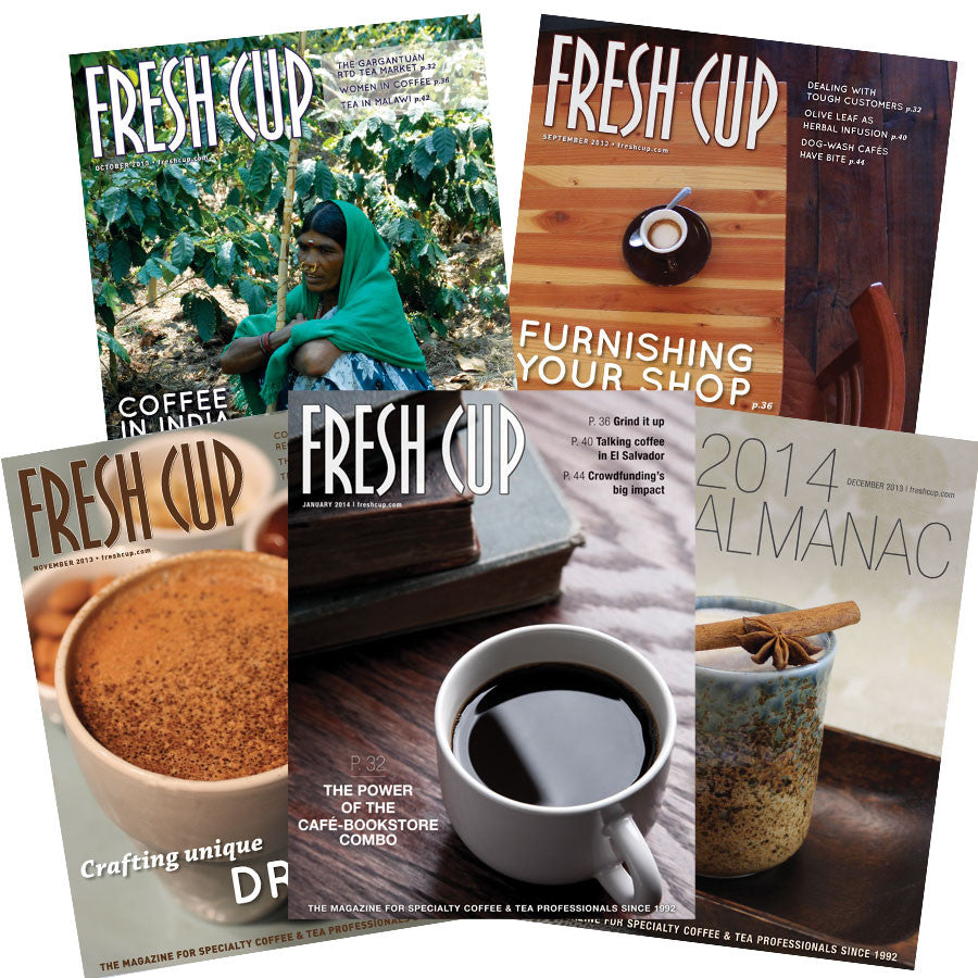 2 year subscription to Fresh Cup Magazine
