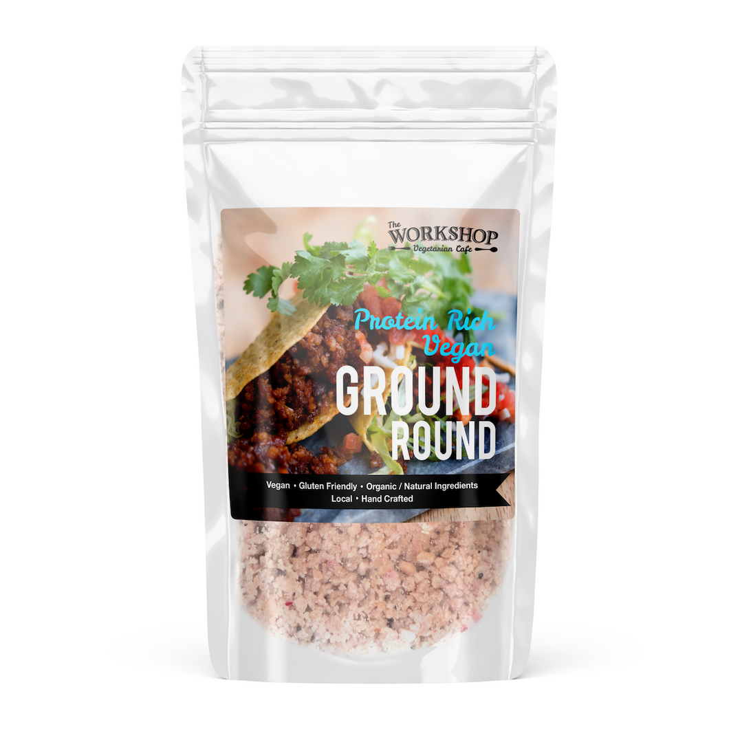 Frozen Vegan Ground Round