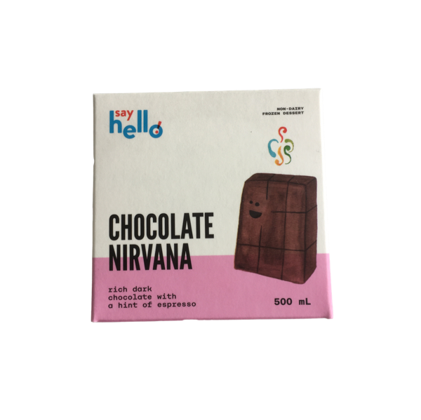 Chocolate Nirvana Ice Cream - Say HELLO