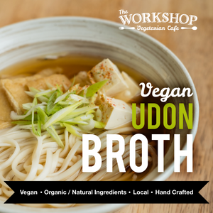Frozen Vegan Udon Broth