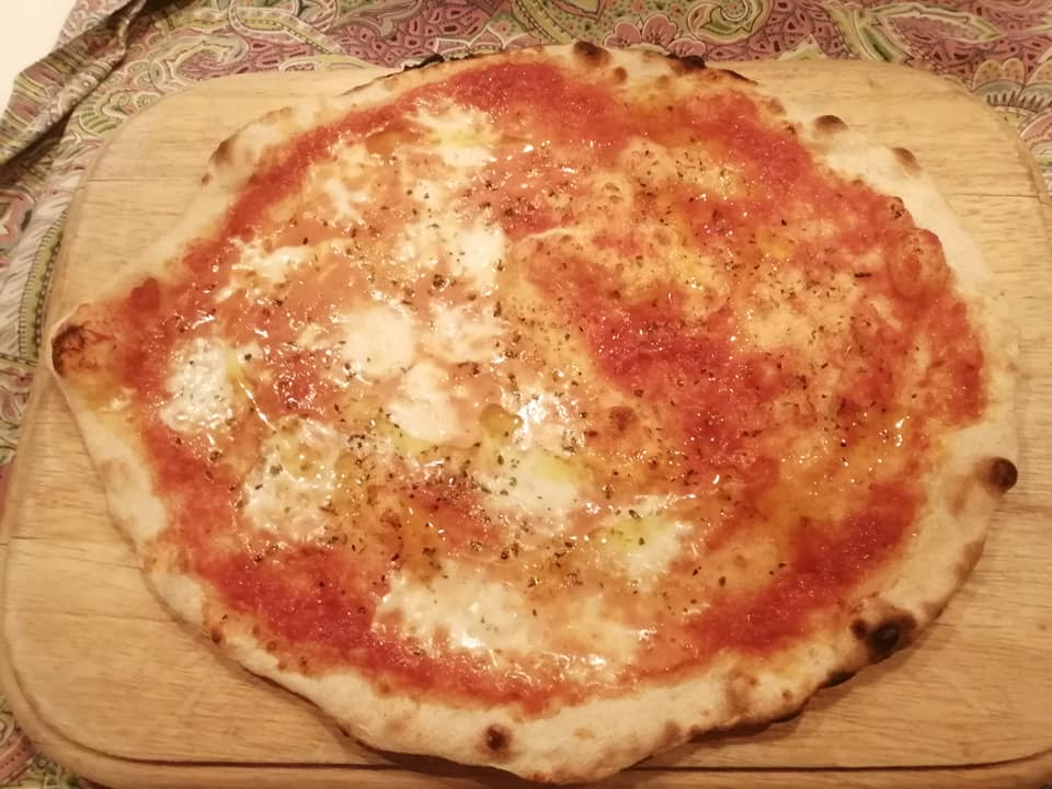Pizza tonda Romana con Bònda-POOLISH
