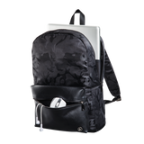 "HAMA 101599 ""Mission Camo"" Notebook Backpack, up to 40 cm (15.6""), gun metal"