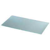 XAVAX 110921 Glass chopping board, clear, 52 x 30 cm