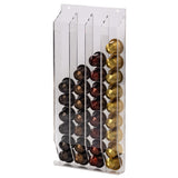 "XAVAX 111154 ""Acrilico"" Coffee Capsule Stand for Nespresso, 40 capsules, transparent"