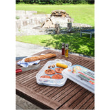 XAVAX 111496 BBQ Transport Box with cold packs, 43 x 27.5 x 11 cm