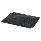 "XAVAX 111516 Hob cover plate, pack of 2, ""Granite"" design, 52 cm x 40 cm"