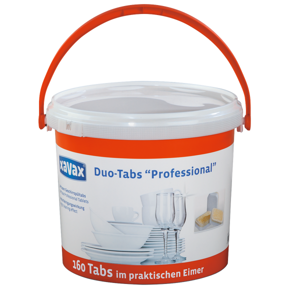 XAVAX 111735 2-Phase Pro Tabs for Dishwashers, 160 Tabs