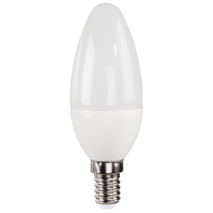 XAVAX 112216 LED Bulb, E14, 350lm replaces 32W candle bulb, warm white