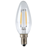 XAVAX 112237 LED Filament, E14, 250lm replaces 25W candle bulb, warm white
