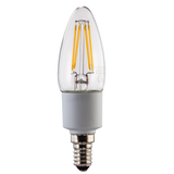 XAVAX 112270 LED Filament, E14 replaces 40W candle bulb, warm white, dimmable