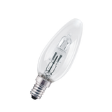 XAVAX 112460 Halogen Candle Bulb, E14, 30W, warm white, 2 pieces
