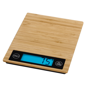 "XAVAX 113956  ""Philina"" Kitchen Scales, bamboo"