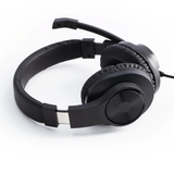 "HAMA 139925 ""HS-P300"" PC Office Headset, Stereo, black"