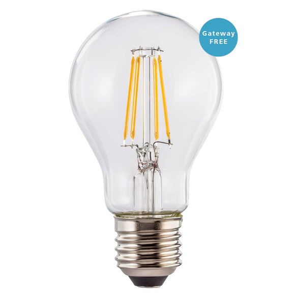 Hama 176555 WiFi LED Filament, E27, 7W, warm white, dimmable