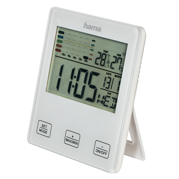 HAMA 176967 Thermo-Hygrometer with Mold Alert 1
