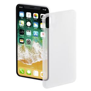 "HAMA 181393 ""Ultra Slim"" Cover for Apple iPhone X, white"
