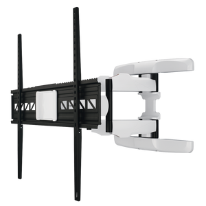 "Hama 118626 FULLMOTION TV Wall Bracket, 5 Stars, 229 cm (90""), black/white"