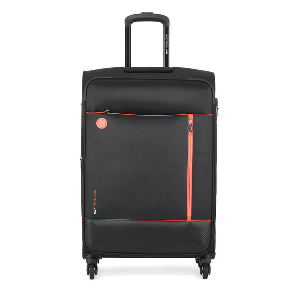 VIP PARKER 4 wheels Soft Expandable Trolley