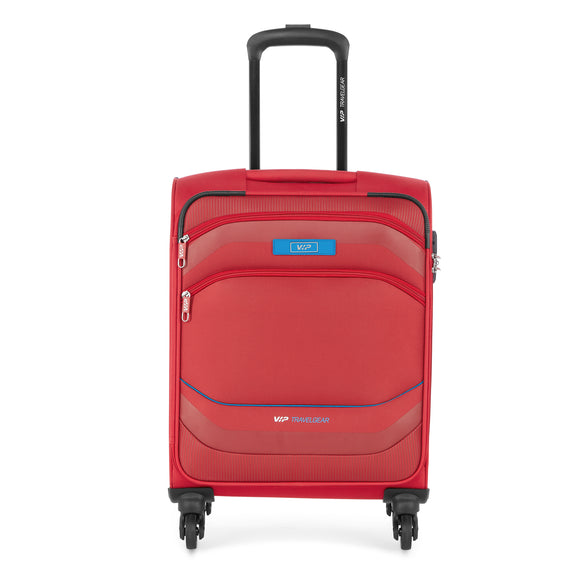 VIP MONTANA 4 Wheel Soft Trolley Expandable 3 Pcs/Set 54cm,69cm,79cm