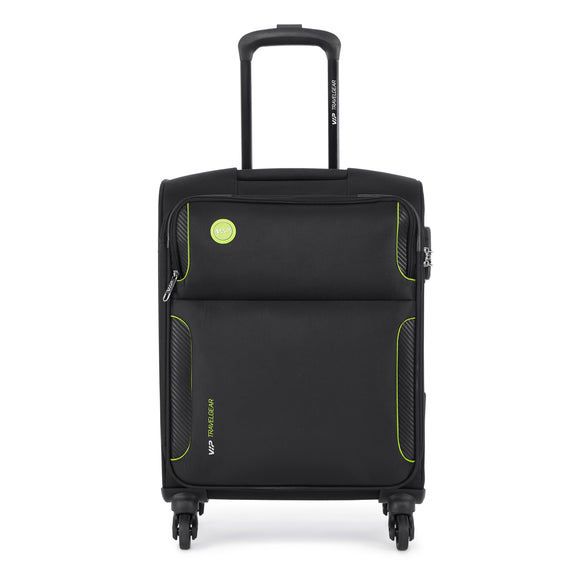 VIP CANADA 4 Wheels Soft Trolley Expandable 3 Pc Set 54cm , 69cm , 79cm