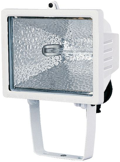 BRENNENSTUHL 1170110 Halogen Light 500W , White , Including Lamp