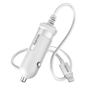 HAMA 173862 APPLE CAR CHARGER 1A WHITE