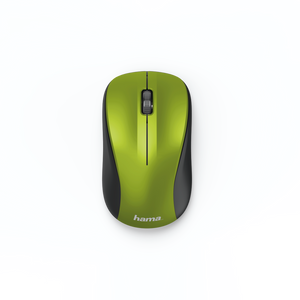HAMA 182623 3-BUTTON MOUSE,MW300,LIME YELLOW