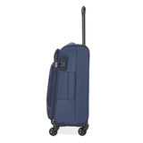VIP PARKER 4 Wheels Soft Trolley 3 Pc Set 54CM , 69CM ,79CM