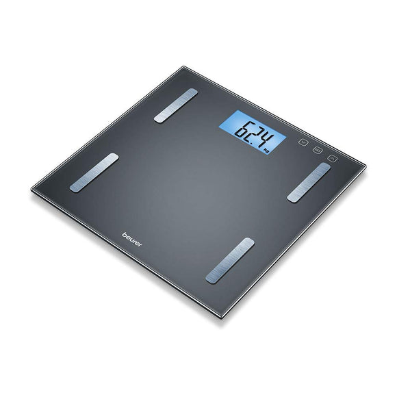 Beurer BF 180 Diagnostic Body Fat Scale with BMI Calculator and Large LCD Display