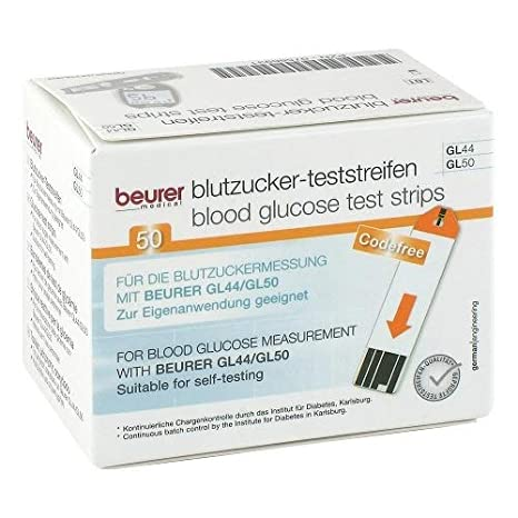 Beurer 464.92 -10 Test Strip Gl50.464/Gl44