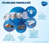 BRITA 1037406 On Tap HF Water Filter Cartridge - Compatible On Tap Filtration System - 600 litres of Excellent Taste Filtered Water
