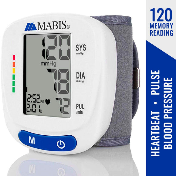 Mabis BC52 Digital Blood Pressure Wrist Monitor